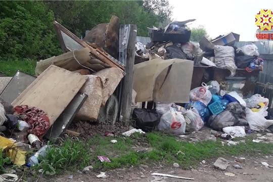 Свалки мусора и такого же объема проблемы